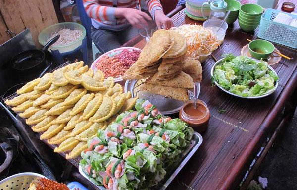 越南河内的街边小吃