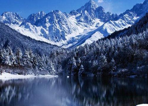 神奇的现代山地冰川