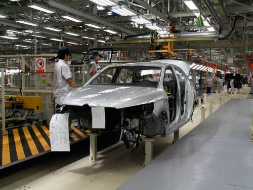 神龙第三工厂全新技术集成