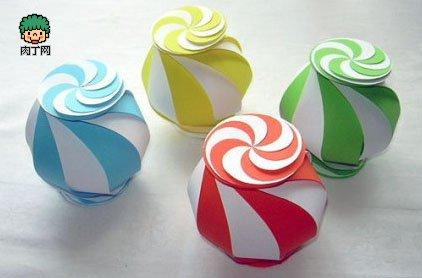 折纸手工制作纸球的做法
