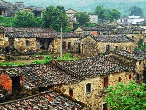 朴素的樟脚村