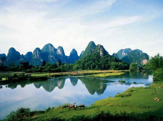 美丽的高田山水 图片来源:远方网
