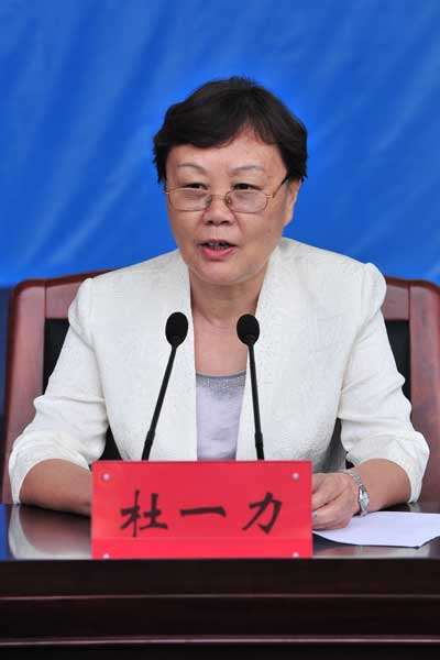 国家旅游局副局长杜一力讲话