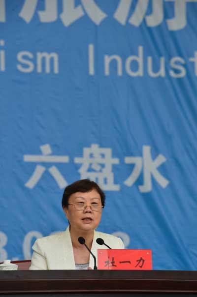 国家旅游局副局长杜一力在第八届贵州旅游产业发展大会上讲话