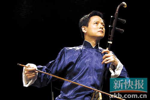 在金色大厅开创二胡独奏先河的邓建栋奉上《二泉映月》-广东民乐团图片