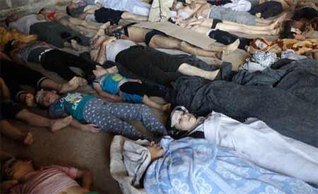 叙利亚:多人死于毒气弹