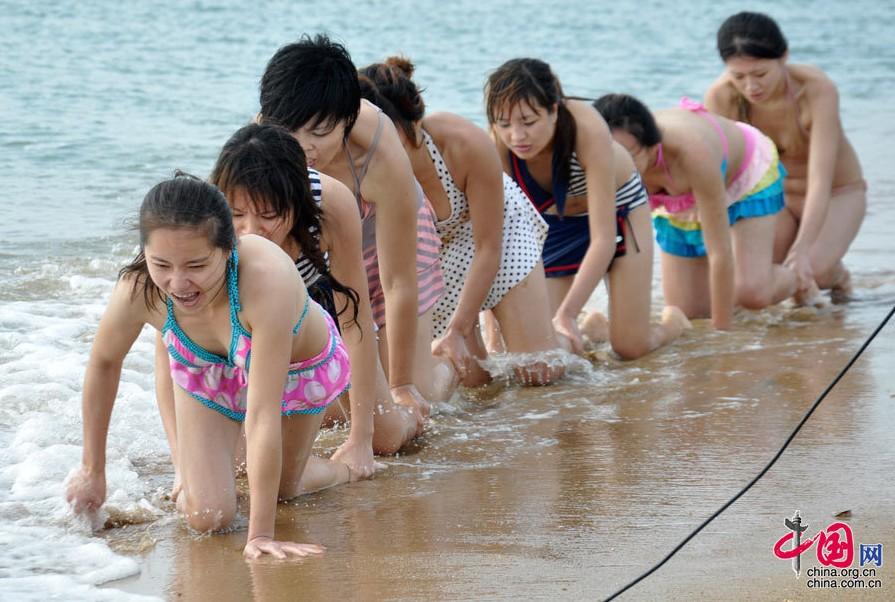 揭秘中国美女保镖训练营高清组图