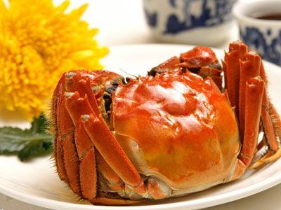 吃蟹的正确顺序