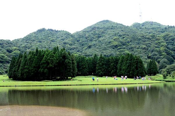 具有北欧风情的大容山景区莲花池景观  林艺 摄影