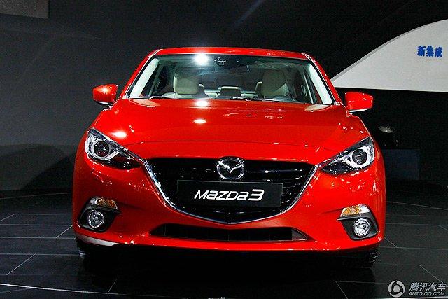 [国内车讯]全新长安马自达3于明年5月上市