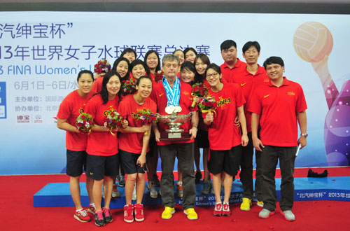 中国女子水球队
