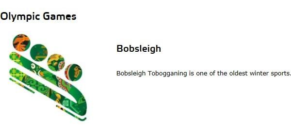 雪车(Bobsleigh)