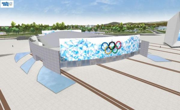 """""""冰立方""""冰壶中心(The """"Ice Cube"""" Curling Center)"""