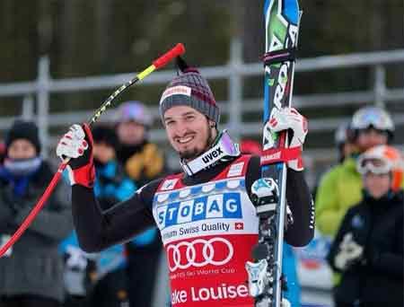 [高清组图]FIS滑雪世界杯速降赛 队员获奖照片