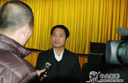 中央新影集团微电影部主任郑子接受广西台采访