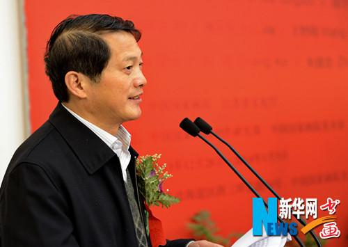 江苏省文化厅厅长徐耀新现场发言