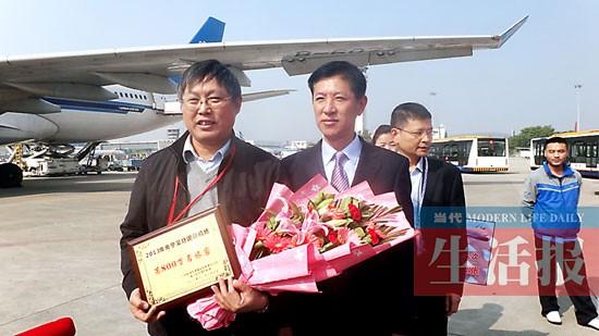 南宁机场今年客流量突破800万人次 成国际大通道