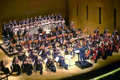 东方交响乐团音乐会 演绎名曲获观众喝彩