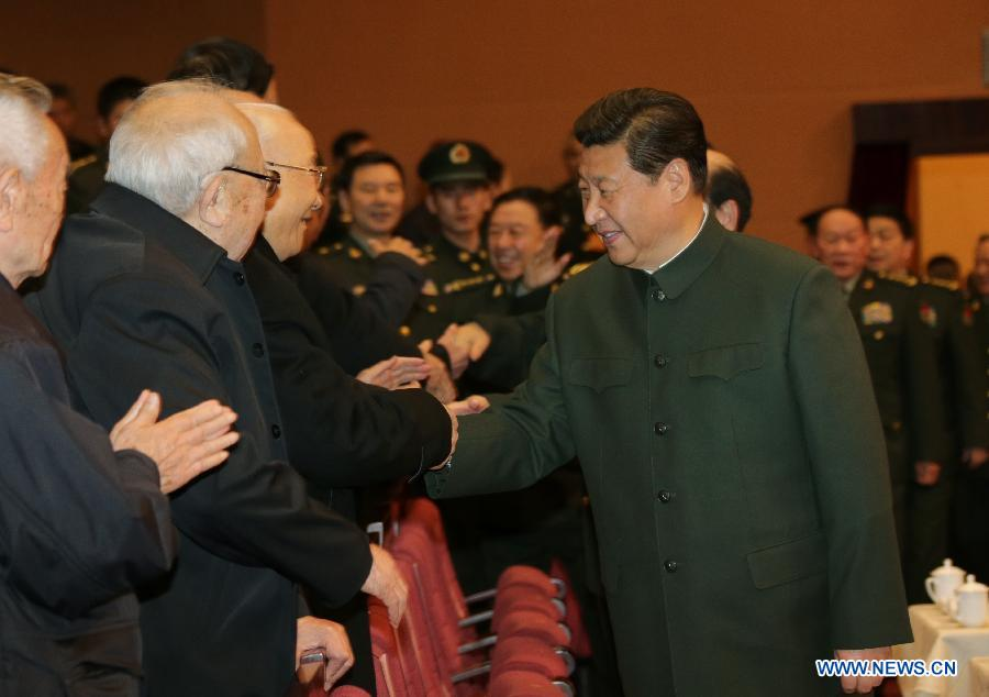 Си Цзиньпин поздравил ветеранов с наступающим Новым годом