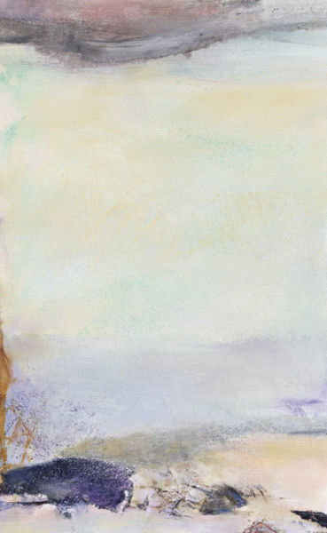 赵无极《抽象山水27.08.91》2013年苏富比(北京)秋拍拍品 成交价:4484万元人民币