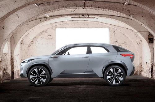 新流体雕塑设计 现代发布Intrado概念车