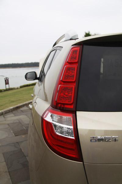 实用性升级 试驾2014款吉利GX7