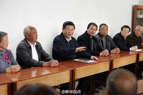 习总在兰考的讲话稿_习近平重访兰考:焦裕禄精神是永恒的_共产党员网