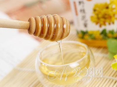 女人春季吃对蜂蜜 功效远远大于保养品