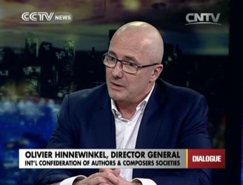 Olivier Hinnewinkel, director general of Int
