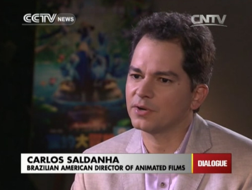 Carlos Saldanha, Brazilian American director of animated films