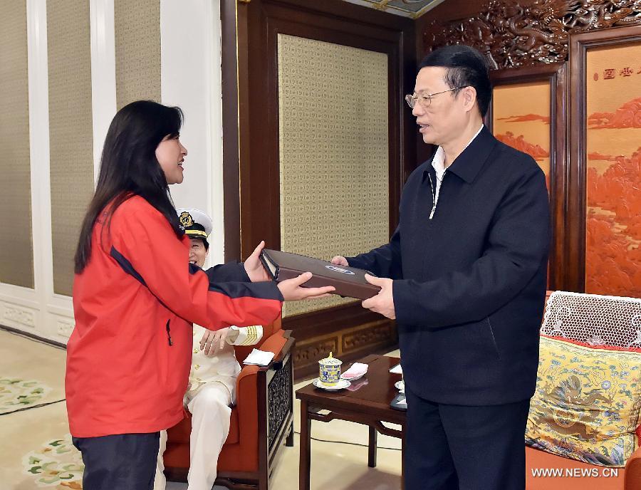 Чжан Гаоли подчеркнул важность полярных исследований