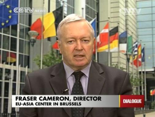 Fraser Cameron, Director of EU-Asia Center in Brussels