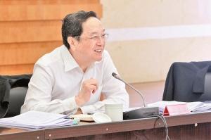 俞正声全程指导专题民主生活会