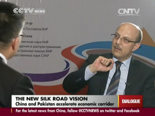 Dialogue 07/01/2014 The new silk road vision