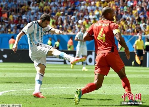 هدف هيغواين ينقل المنتخب الأرجنتيني إلى دور نصف نهائي المونديال