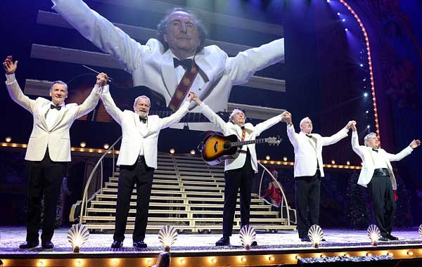 British comedy troupe Monty Python has performed the final show of their ten-day residency at the O2 Arena in London, in front of 16-thousand people.