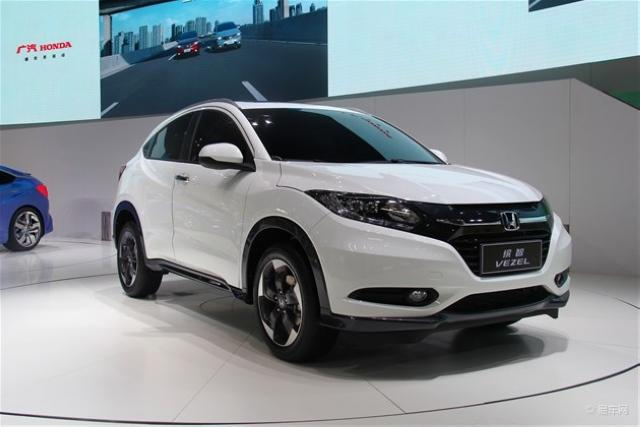 广汽本田小型SUV车型缤智-东本小型SUV概念车成都车展亮相 12月上市高清图片