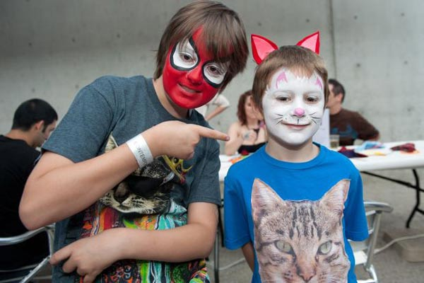 Audience members say it was a purr-fect night, allowing them to bond with like-minded people.