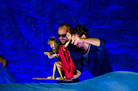 Friday evening saw Greek hero 'Ulysses' once again come to life in front of hundreds of curious youngsters, thanks to some skillful puppeteers.