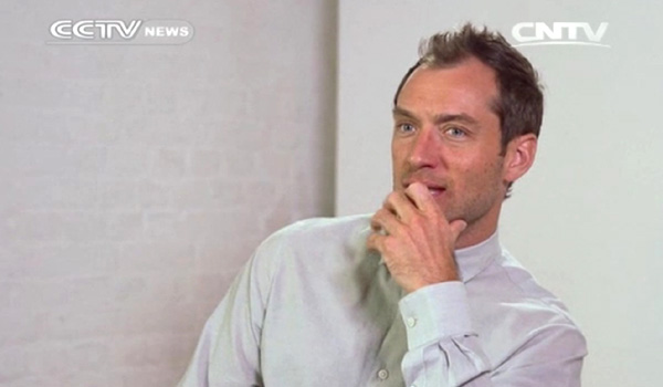 "British actor Jude Law seems to have laid low for a little while. But with two films, ""Spy"" and ""Black Sea"" currently in post-production and a third one in pre-production, he"