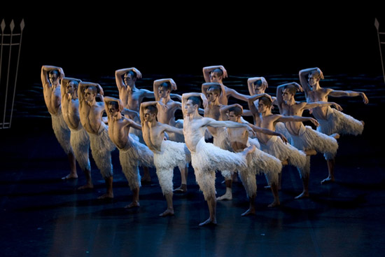 An unusual version of the classic ballet