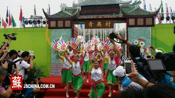 Деревня Юношеских олимпийских игр в Нанкине официально открылась