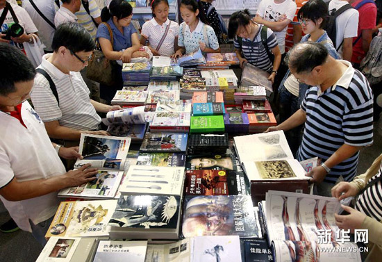 Literary lovers have been turning the pages at the 2014 Shanghai Book Fair and getting to meet some renowned authors along the way.