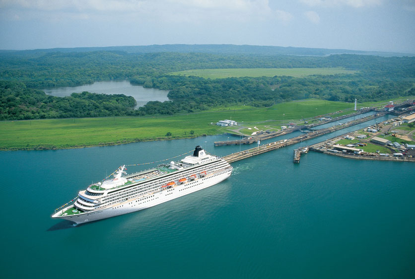 The Panama Canal turns 100 years old on Saturday.
