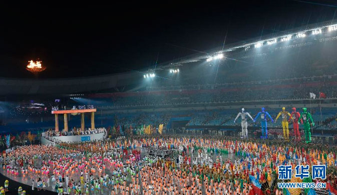 Over 3,000 young athletes from across the world gathered for the opening gala in Nanjing, a night of fun that no one wanted to end.