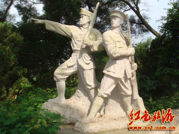 倍加鼓舞——参观百色起义英雄雕塑园记()