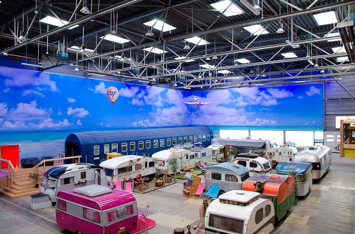 BaseCamp in the city of Bonn is offering people the chance to revisit their childhoods, and spend a weekend in some retro mobile holiday homes.