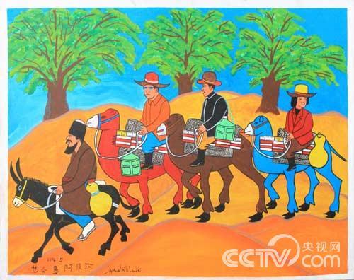 新疆民族大团结画_民族团结的绘画作品_民族团结绘画作品简单又漂亮 - 电影天堂