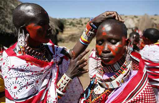 Kenya traditional marriage Maasai ceremony