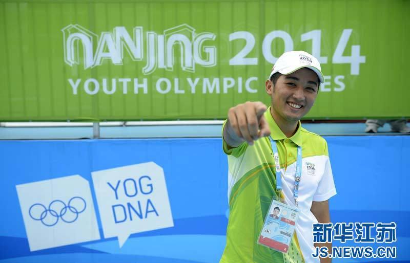 Любовь к Нанкину добровольца из Казахстана на вторых Юношеских Олимпийских играх
